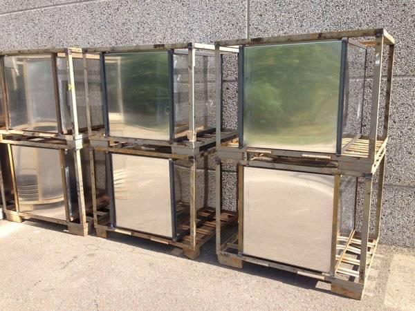 Alluminium containers